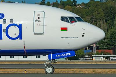 Belavia Boeing 737-8 MAX EW-546PA 9-24-21 2
