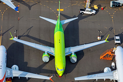 S7 Airlines Boeing 737-8 MAX VP-BXI 9-24-21 2