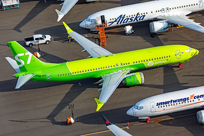S7 Airlines Boeing 737-8 MAX VP-BXI 9-24-21