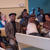 A section of the audience at Wednesday's forum in Friend's Meeting House in downtown Brooklyn.