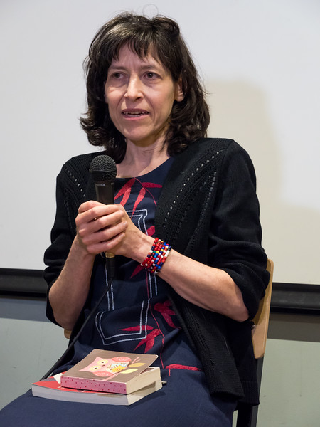 "The evening's first speaker after the film showing was Helen Epstein, author of  ""Another Fine Mess: America, Uganda, and the War on Terror."" Epstein is Professor of Human Rights and Global Public Health at Bard College"