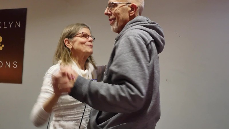 ► PRESS ► PLAY (above) for a short video!<br /> <br /> Jaki and Henry are mixing it up at BFP's Holiday Party!