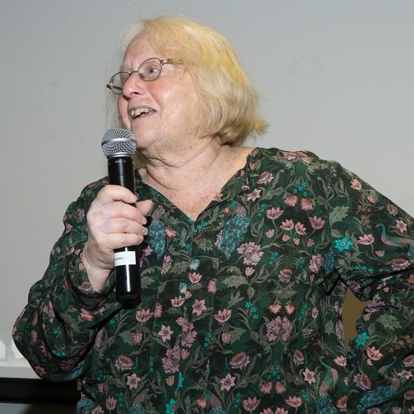 "Carolyn ""Rusti"" Eisenberg, BFP's Vice-Chair, said Jane ""just made me feel good whenever I saw her."""