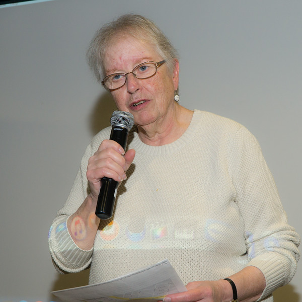 Martha Cameron read a beautiful letter from Naomi Allen who summed up Jane's personality and contributions in a way that brought murmurs of agreement from those in the room.