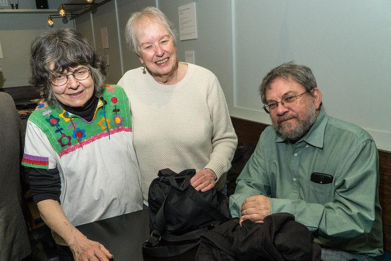 Eleanor, Martha and Gary at the event.