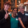 Three of Brooklyn's great Peace Women: Charlene, Mukti and Fran.