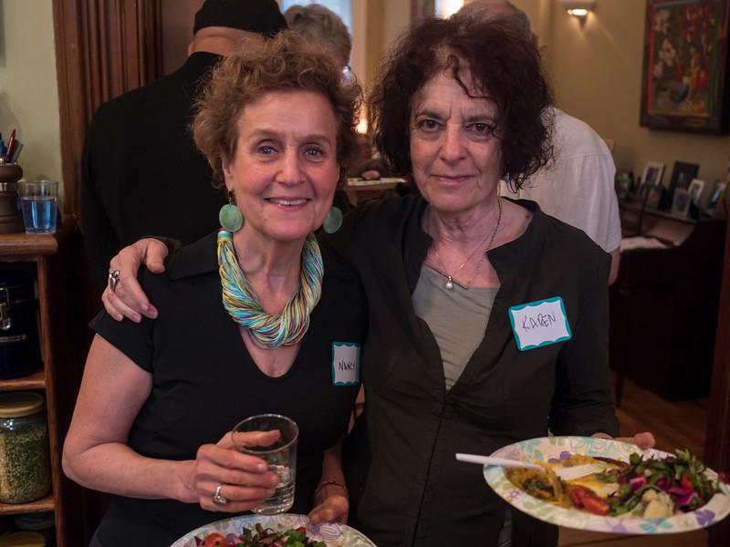 Nancy and Karen.