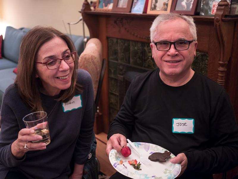 Robin Cohen and Jose Ristorucci.