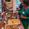 Great food was served. The wonderful Indian cuisine was prepared by BFP's Mukti Banerjee.