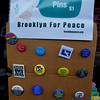 BFP's Peace Button display.