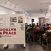 The Brooklyn Museum gave Brooklyn For Peace space on the second floor mezzanine for its presentation. It was filled to capacity.