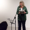 Norgren: her poetry was hard-hitting and well received.