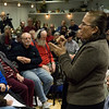 Ana Aguire of United Community Centers, based in East New York, described battles there against rampant gentrification  and for affordable housing in that very poor and unrepresented community.