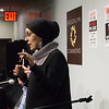 """Debbie Almontaser, of the <a href=""""http://mcnny.org/"""" target=""""blank""""><b>Muslim Community Network</b></a> spoke next. Almontaser is a well-known Muslim-American civil rights activist and educator. She reported on the many numerous attacks, verbal, physical and at the hands of police as well, that have occurred during the rise of Trumpism."""