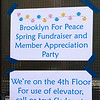 The BFP Spring Fundraising Party was in a lovely apartment on Atlantic Avenue.