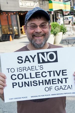 Brooklyn Vigil To End Israel's War Against Gaza.