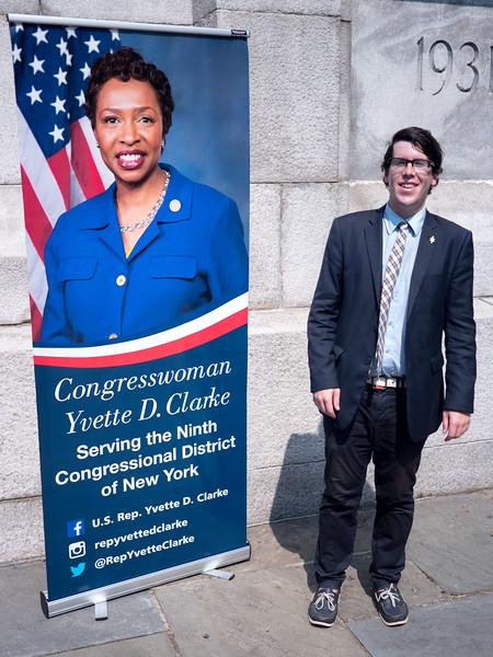 Patrick Rheaume, aide to Representative Yvette Clarke.