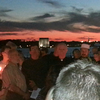The march ended at the Promenade, overlooking New York's harbor. Candles were lit to  proclaim the desire for peace and unity of all peoples.     - Photo by Sam Koprak.