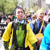 ► PRESS ► PLAY (above) for a short video!<br /> <br /> Japanese peace marchers sing as they walk along to the United Nations.