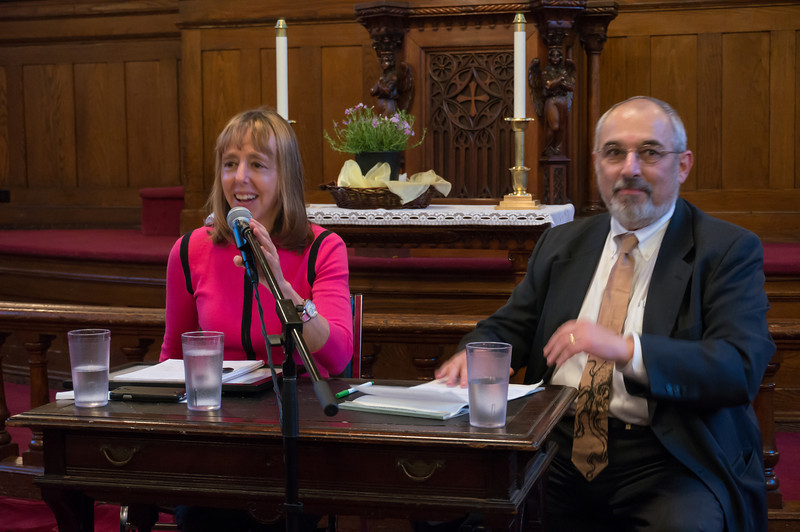 David Tykulsker, Vice-Chair of Brooklyn For Peace, interviewed Medea Benjamin.