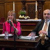 David Tykulsker, Vice-Chair of Brooklyn For Peace, interviewed Medea Benjamin. This interesting discussion was followed by questions from the audience.