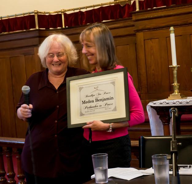 The award.