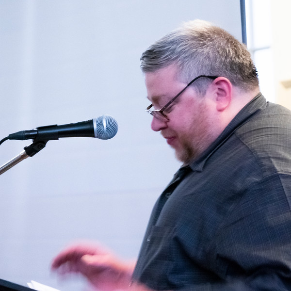 Brendan Glynn, Clerk of the Peace and Social Action Committee of Brookln Friends Meeting, opened the meeting.