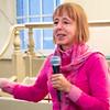 Medea Benjamin of  CodePink was the evening's featured speaker.