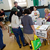 Food and Peace? Yes! The BFP table at the 2012 Brooklyn Food Conference.