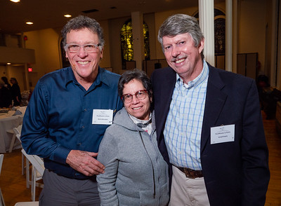 Left to right: CBID's Marty and Pat Bernstein and Joe Kopitz.