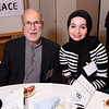 Dr. Ahmed Jaber and Marwa Janini of the Arab-American Association of NY.