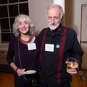 Great Brooklyn activists, Bette Duck and Lew Friedman.