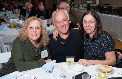 Stacey Weinstein (l.), Roque Ristorucci and Robin Cohen.