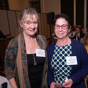 Sylvia Rodriguez Chase and Lori Robinson of Peace Action NYS.