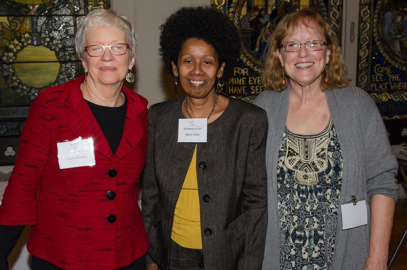 Carol, Maria and Anne.