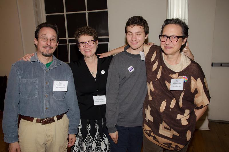 Eric, Deborah, Alex and Nancy — it's all good!