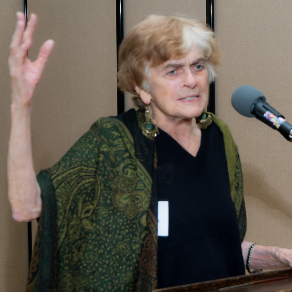 Frances Fox Piven was the next Pathmaker to be honored. She is a political science professor at the Graduate Center, City University of New York (CUNY) and a social theorist and welfare rights activist who has addressed  issues of income inequality and political participation.