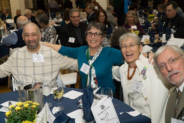 Hi folks! Some of BFP's Israel-Palestine committee members.