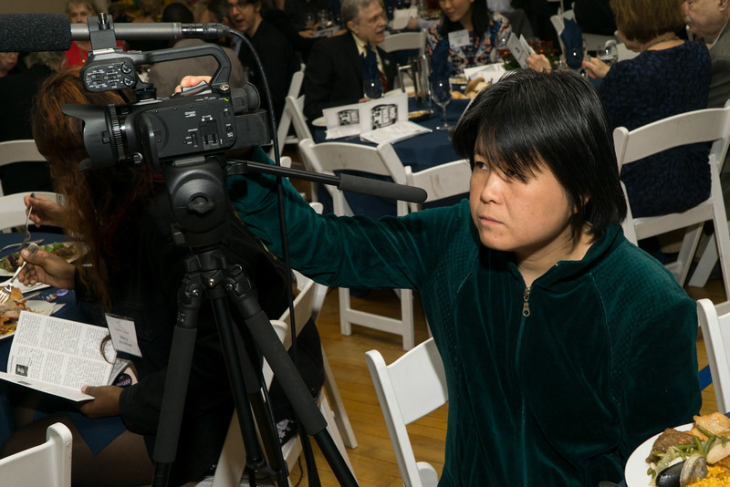 Our incredible videographer., Annie Yan. Always there when you need her.