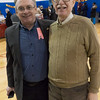 UUP Membership Director, John Hoey (left), with BFP member Bruce Altschuler.