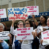 Downstate workers and supporters rally against layoffs - August 8, 2012