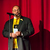 Chris Owens did a wonderful job, with wit and warmth, as MC for the day.