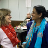 Two great peace women: Jaki and Mukti.
