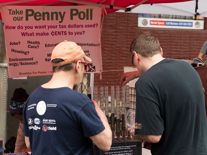 Another Penny Poller. How are you today, Congressman?