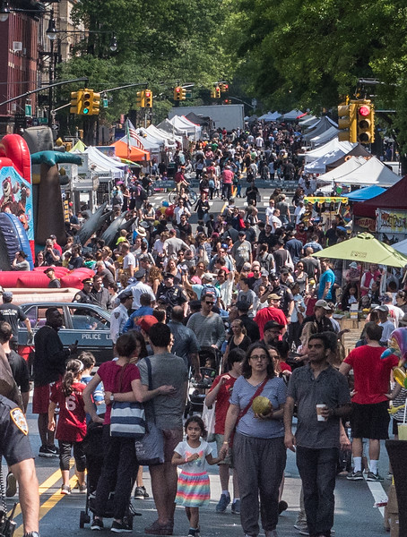 The Fabulous  Fifth Street Fair. It stretches along Brooklyn's popular Fifth Avenue from Sterling Place to 12th Street. It was jammed with thousands of people.