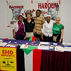 The BFP Darfur Committee along with International Courage Medal winner.