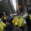Chants filled the air and marchers filled the streets of midtown Manhattan.