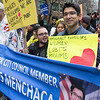 We were proud to marching next to Sunset Park's City Councilmember, Carlos Menchaca. He's a staunch advocate for immigrant families in his district.