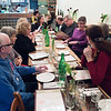 Our thank you party at Amorina Pizzeria.