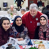 Leslie Cagan and Linda Sarsour with friends